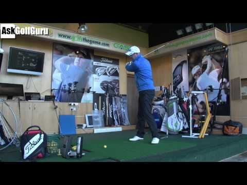Golf Swing Club Path and Face Control Lesson