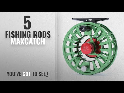 Top 10 Maxcatch Fishing Rods [2018]: Maxcatch Avid Fly Fishing Reel with CNC-machined Aluminum