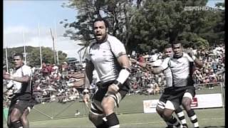 Fiji's debut of the new war dance the