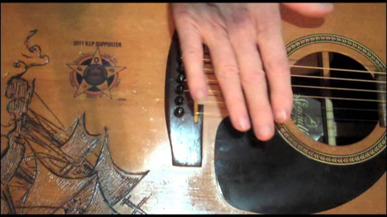 EASY Acoustic Guitar Action Improvement – string height Adjustment – simple tools