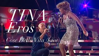 Video Tina Turner & Eros Ramazzotti - Cose Della Vita Live - Munich 1998 (HD 720p) MP3, 3GP, MP4, WEBM, AVI, FLV Mei 2019