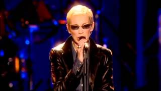 """Eurythmics """"Here Comes The Rain Again"""" live 46664 THE EVENT"""