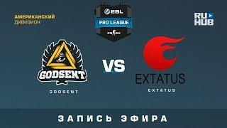 GODSENT vs eXtatus - ESL Pro League S6 Relegations EU - map2 - de_mirage [ceh9, yXo]