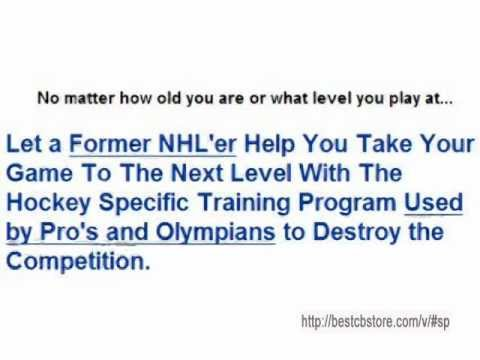 Hockey Speed and Power by Kevin Miehm – Pro Calibre Hockey Training from an Ex-NHL Player