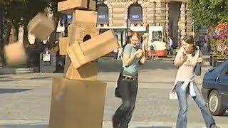 Hidden Camera: BOX MONSTER!!