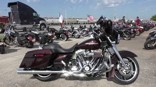 4. 604250 - 2011 Harley Davidson Street Glide   FLHX - Used motorcycles for sale