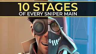 Video The 10 Stages of Every Sniper Main MP3, 3GP, MP4, WEBM, AVI, FLV Agustus 2018