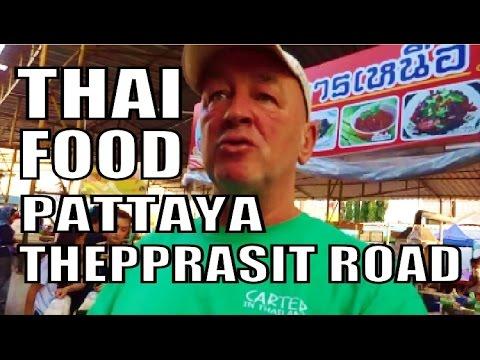 Thailand Food at its Best. Thepprasit Night Market. Pattaya Thailand. Every Fri, Sat, & Sun Night.