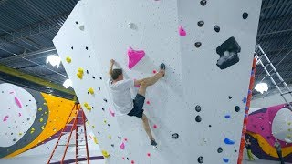 Climbing On My Own Problem! by Eric Karlsson Bouldering