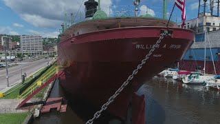 Jason DeRusha and Matt Brickman tour one of the huge boats that's been moving Iron Range goods out of Duluth for more than 100 years (3:46).WCCO 4 News At 5 – July 27, 2017