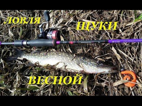 рыбалка на щуку снасти весной видео