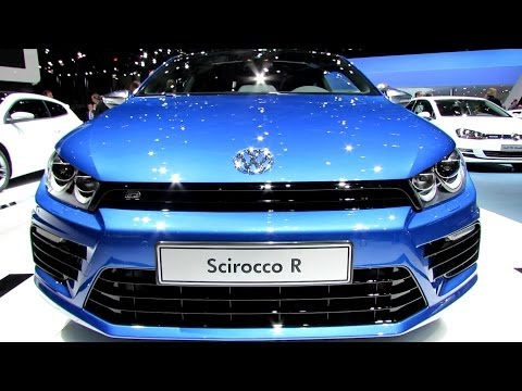 2014 Volkswagen Scirocco R - Exterior and Interior Walkaround - 2014 Geneva Motor Show