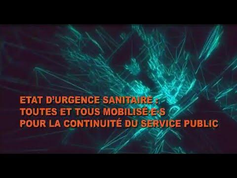 Etat d'urgence Sanitaire: Toutes et tous mobilisé.e.s, d...