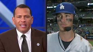 Cody Bellinger Postgame Interview | Dodgers vs Brewers NLCS Game 2