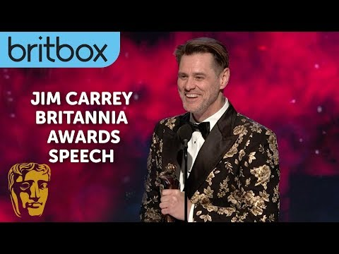 Jim Carrey's Hilarious Acceptance Speech Entrance | Britannia Awards