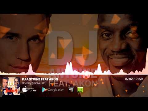 Video Dj Antoine feat Akon - Holiday (Radio Edit) download in MP3, 3GP, MP4, WEBM, AVI, FLV January 2017