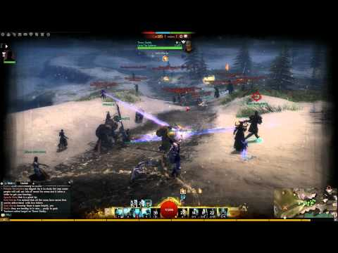 Guild Wars 2 – Unkillable Guardian WvW gameplay with commentary