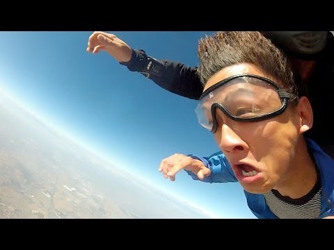 Guy Passes Out On His Bday...Wakes Up Skydiving