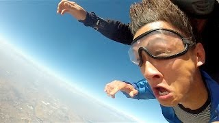 Dude Gets Blackout Drunk On His Birthday And Wakes Up In The Middle Of Skydiving