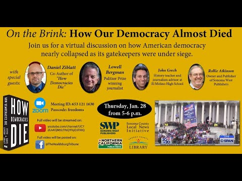 """""""On the brink: How our democracy almost died"""""""