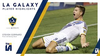 See Steven Gerrard's dramatic first goal for the LA Galaxy.Want to see more from the LA Galaxy? Subscribe to our channel at http://www.youtube.com/LAGalaxy.Facebook: http://www.facebook.com/lagalaxyTwitter: http://www.twitter.com/lagalaxyWant to check out a game? Visit http://www.lagalaxy.com to view upcoming matches and purchase tickets!