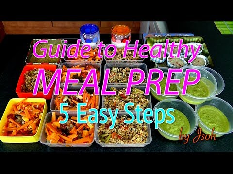 Guide to Healthy Meal Prep: 5 Easy Steps