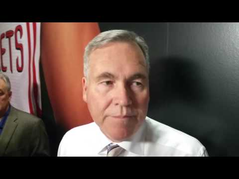 Mike D'Antoni on Rockets bringing back Donatas Motiejunas