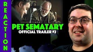 REACTION! Pet Sematary Trailer #2 - Jason Clarke Movie 2019