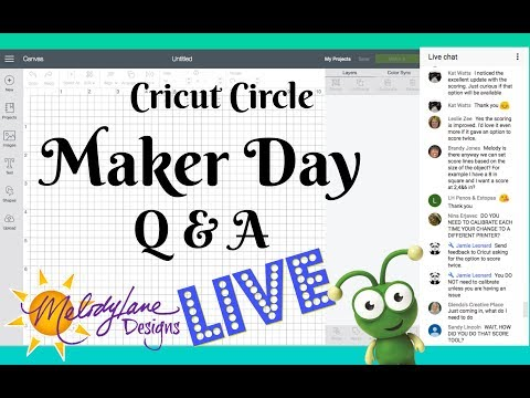 Cricut Circle and other Discounts LIVE Maker Day (видео)