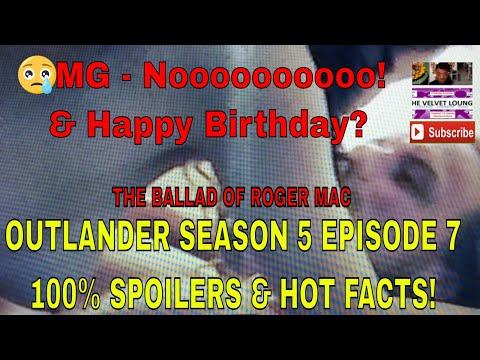 Outlander The Ballad of Roger Mac Episode 7 Season 5 War Reunited Jealousy Happy Birthday Death