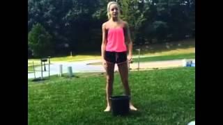 Chloe Lukasiak's ALS ice bucket challenge 2014