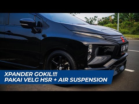 #review                 Mobil Xpander Gokill !!! Pakai Velg Hsr + Air Suspension