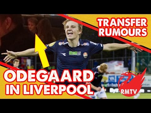 Martin Odegaard Sighted In Liverpool | Liverpool Transfer Rumours