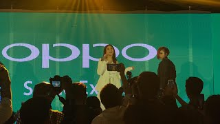 Video Popstar Royalty Sarah Geronimo gives 100% performance at the OPPO F5 launch MP3, 3GP, MP4, WEBM, AVI, FLV November 2017