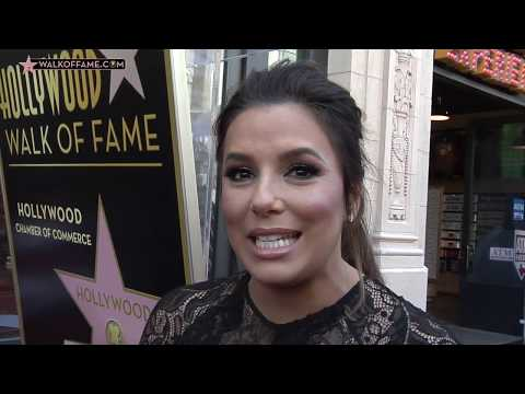 Eva Longoria Walk of Fame Ceremony