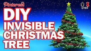 DIY Invisible Christmas Tree - Man Vs Pin #103 by ThreadBanger