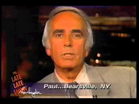 Bill Wendell on Late Late Show with Tom Snyder, August 16, 1995