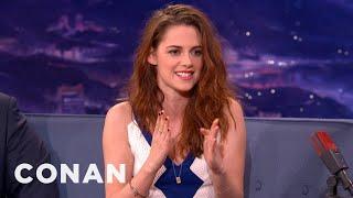 Kristen Stewart Has A Famewhore Dad - CONAN on TBS
