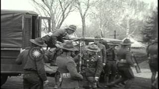 Le Mars (IA) United States  city pictures gallery : Soldiers gather as Martial law is imposed in Le Mars, Iowa. HD Stock Footage