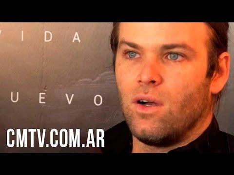 Benjamín Amadeo video Vida Lejana - Entrevista CM   Septiembre 2016