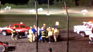5. Cottle goes for a hell of a ride @ gas city!