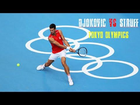 Novak Djokovic vs Jan Lennard Struff | Tokyo Olympics | 2nd Round