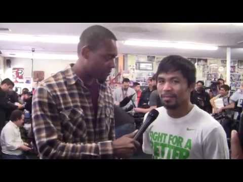 faceoff - Radio Rahim interviews Manny Pacquiao about fight vs Timothy Bradley. Manny Pacquiao talks rematch fight and killer instinct vs Timothy Bradley. Manny Pacqui...
