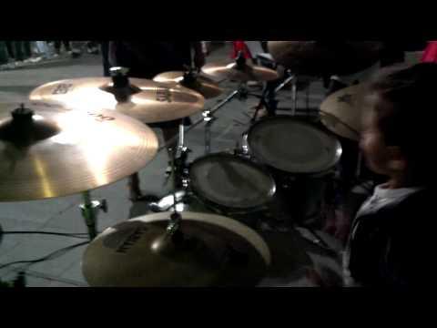 João Emanuel tocando em Malacacheta