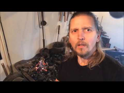 Actor Barry Pepper Showing How He Forges Knives For Every Role He Plays.