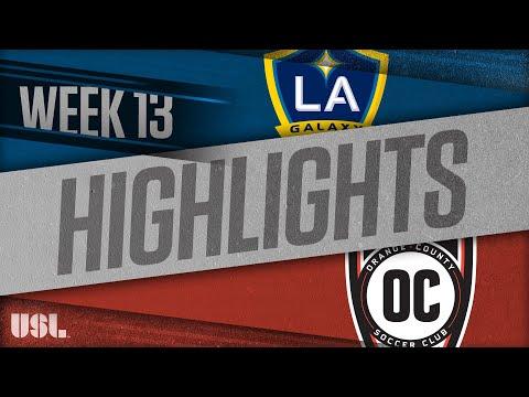 LA Galaxy 2 - Оранж Каунти Блюз 0:1. Видеообзор матча 11.06.2018. Видео голов и опасных моментов игры