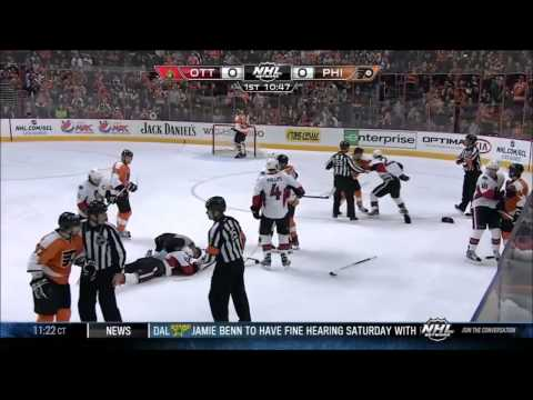 NHL Best Hits and Fights 2012 2013
