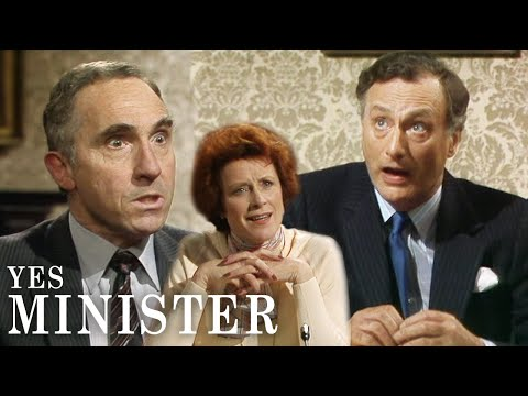 Humphrey Goes Ballistic When Jim Goes Off-script | Yes Minister | BBC Comedy Greats