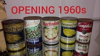 Video 55 Year Old Canned Foods, Opening decades-old Canned Foods 3 MP3, 3GP, MP4, WEBM, AVI, FLV Agustus 2019