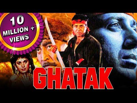 सनी देओल की सबसे बड़ी हिट फिल्म घातक | मिनाक्षी शेषाद्रि, अमरीश पूरी, देनी डेंज़ोंग्पा | Ghatak 1996